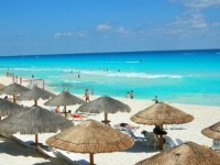 Cancun beach ©tiger.towson.edu