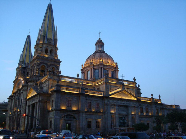 The Guadalajara Cathedral