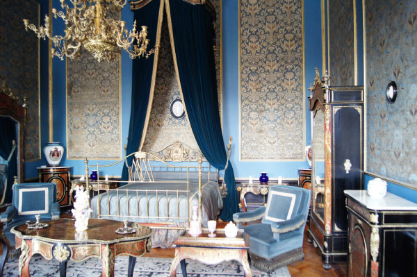 One of the rooms in Castle Chapultepec