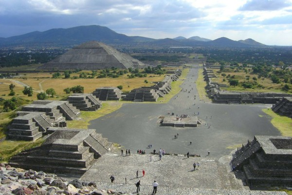 Teotihuacan © Herbert Spencer/Flick