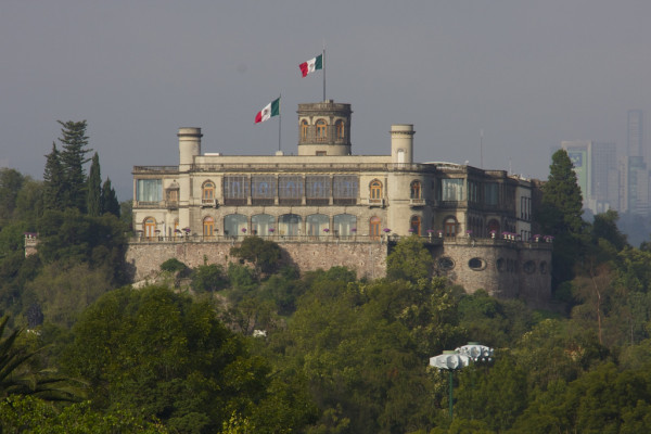 The Royal Castle of Chapultepec in Mexico city