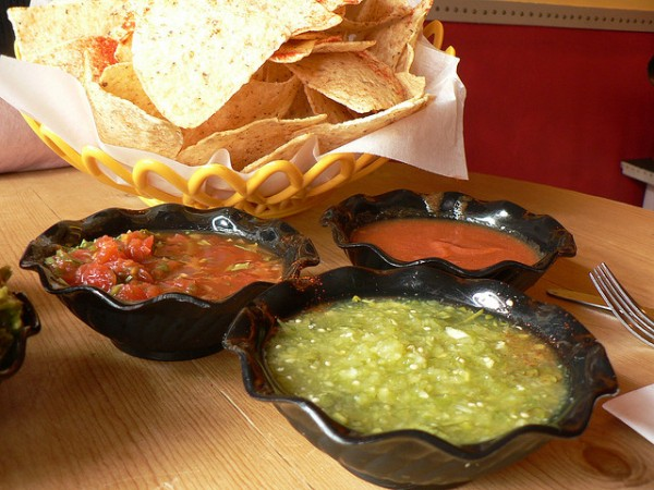 Famous Mexican salsa