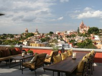 The sensational Luna Roof Top Tapas Bar in Mexico