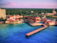 Port in Cozumel, Mexico