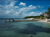 The beautiful island of Isla Mujeres