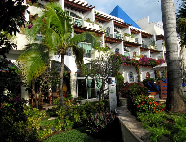 Charming hotel in Isla Mujeres