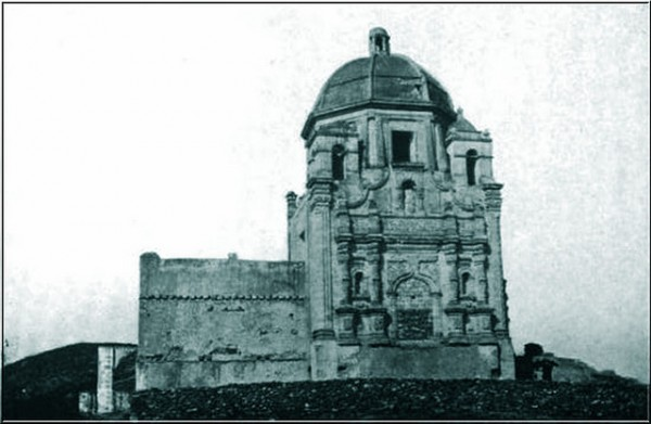 The Bishop's Palace in Monterrey