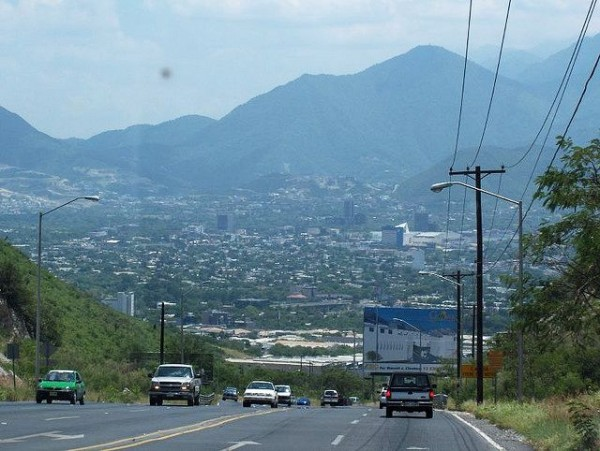 View of the city of Monterrey