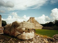 Archeological site in Mexico