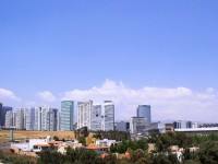Tall buildings in Ciudad de Mexico