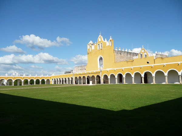 The colonial city of Izamal in Mexico