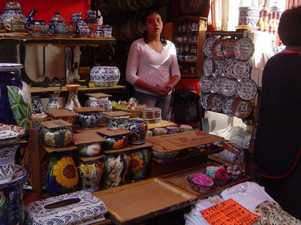 Mexican craftshop