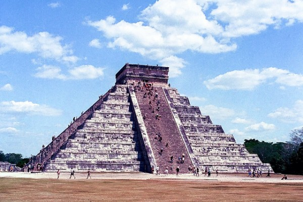 The archeological site of Chichen Itza in Mexico