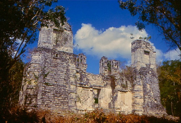 The archeological site of Rio Bec in Mexico