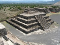 Archaeological sites in central and northern Mexico