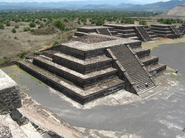 The archeological site of Teotihuacan