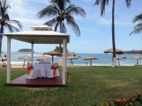 The beach of Bahias de Huatulco