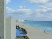 The beach of Cancun
