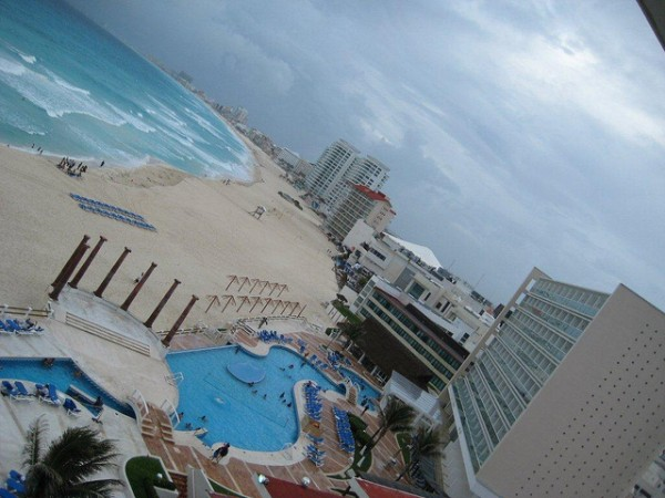 The city of Cancun