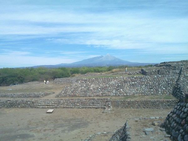 Precolumbian ruins of Colima