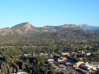 The city of Durango