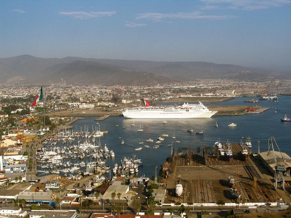 The port of Ensenada