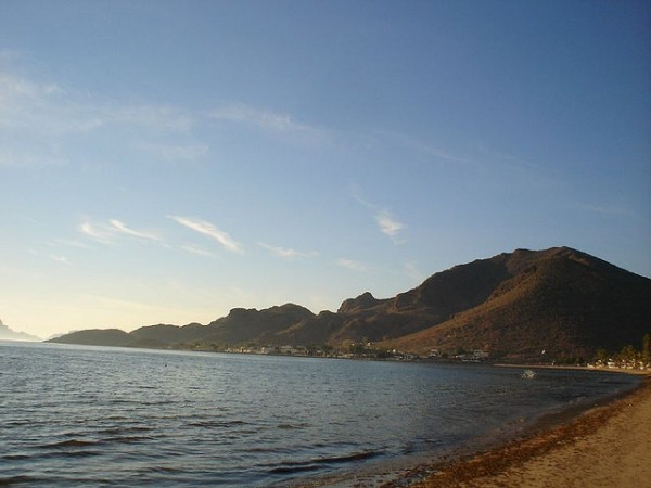Beach in Guaymas