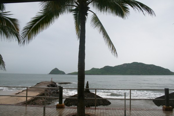 Raining in Mazatlan