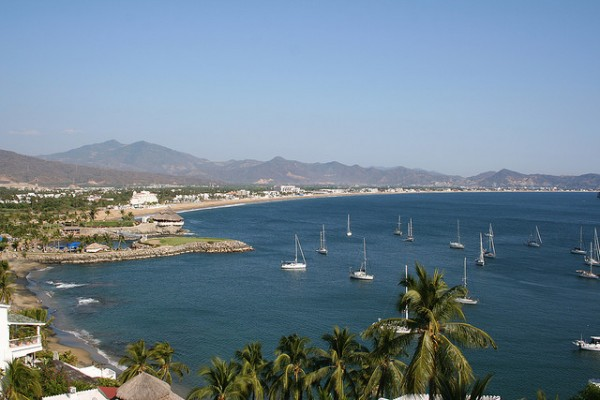 The Manzanillo coastline