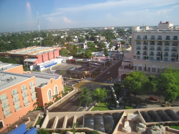 The city of Merida