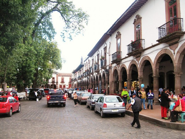 In the city of Patzcuaro