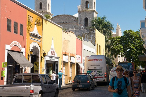On the streets of Merida