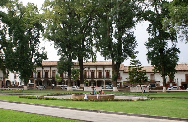 The city of Patzcuaro