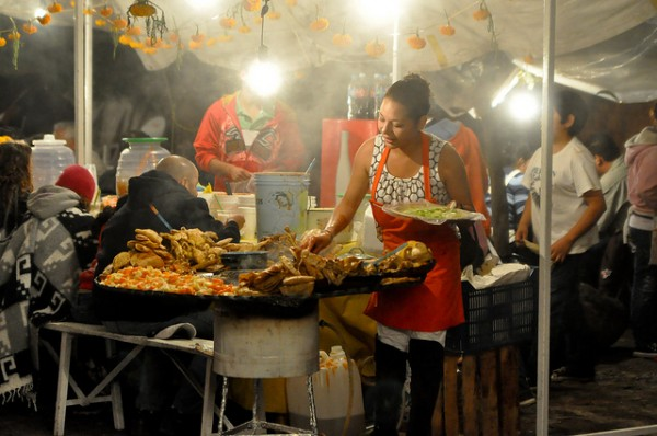 Traditional food in Morelia