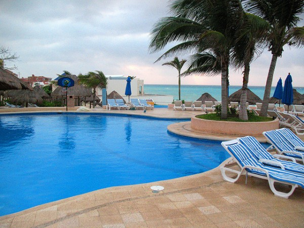 Hotel at Playa de Carmen
